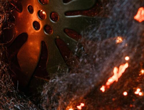 Terasvilla põletamine